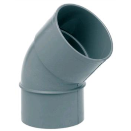 PVC.CODO 125-45º MH